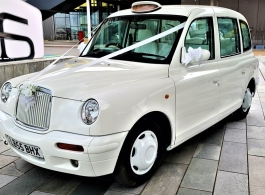 Luxury wedding taxi hire in London
